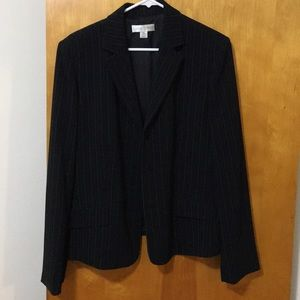 Casual Corner Pinstripe 3 piece suit